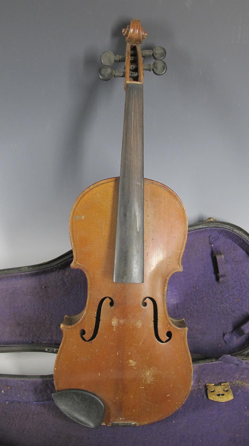 antique german germany violin copy of antonius. Black Bedroom Furniture Sets. Home Design Ideas
